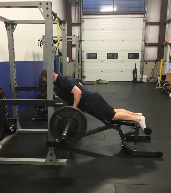 Exercise Of The Week Barbell Chest Supported Row Optimize Fitness